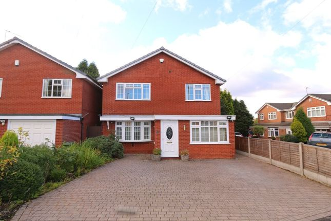 Thumbnail Detached house to rent in Reid Close, Denton, Manchester