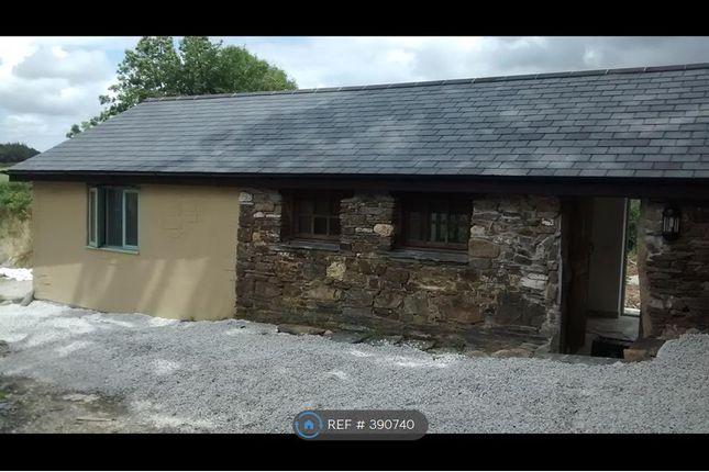 Thumbnail Bungalow to rent in Little North Down Farm, Callington