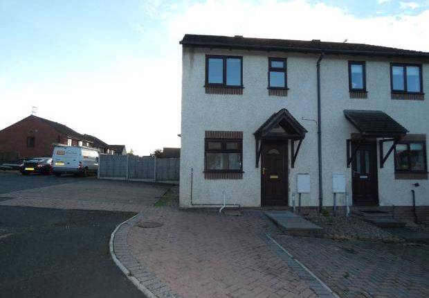 Thumbnail Terraced house to rent in St. Mellion Close, Carlisle, Cumbria