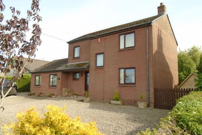 Thumbnail Detached house for sale in Wiggonby, Wigton, Cumbria