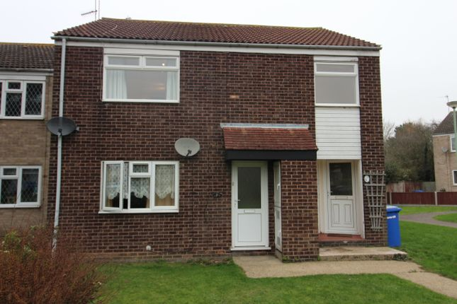 Thumbnail Flat to rent in Spexhall Way, Lowestoft