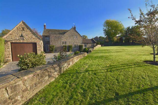 Thumbnail Farmhouse for sale in Walton Back Lane, Walton, Chesterfield