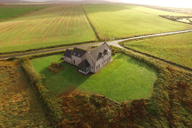 Thumbnail Detached house for sale in Lemlair, Geothe Road, Dounby, Orkney