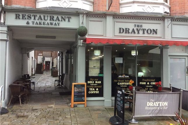 Thumbnail Restaurant/cafe for sale in Lease Assignment, 5 Shoplatch, Shrewsbury, Shrewsbury, Shropshire