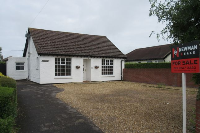 Thumbnail Detached bungalow for sale in Crofton Lane, Hill Head