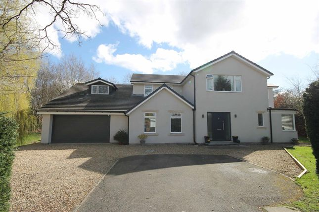Thumbnail Detached house for sale in Oaklands, Darras Hall, Newcastle Upon Tyne, Northumberland