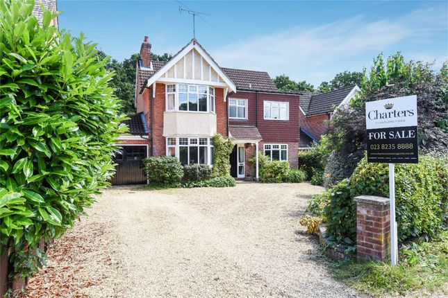 Thumbnail Detached house for sale in Kingsway, Hiltingbury, Chandlers Ford, Hampshire