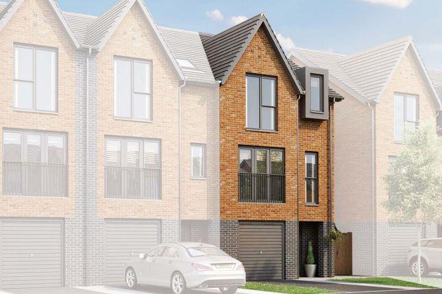"Thumbnail End terrace house for sale in ""The Islington"" at Edge Lane, Droylsden, Manchester"