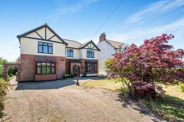 Thumbnail Detached house for sale in Wroxham Road, Sprowston, Norwich