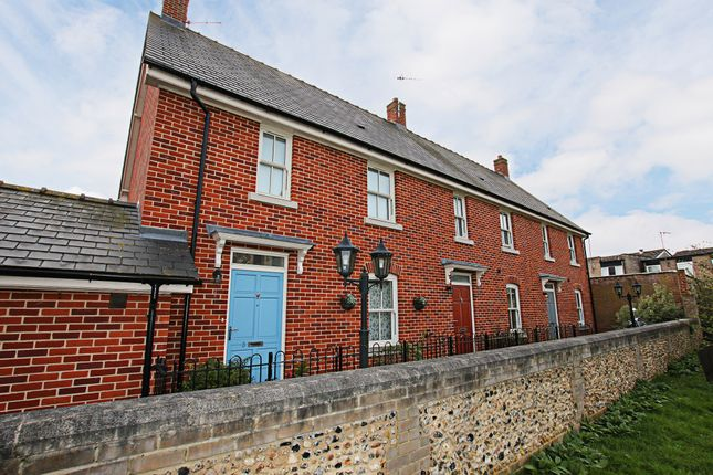 Thumbnail Town house to rent in Bunbury Terrace, Newmarket