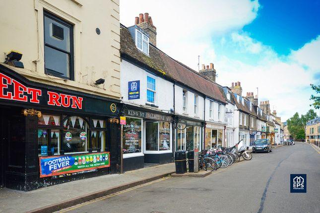 Thumbnail Flat to rent in King Street, Cambridge
