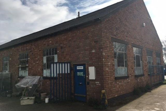 Thumbnail Light industrial to let in Unit A/C, Syston Mills Industrial Estate, Mill Lane, Syston, Leicester