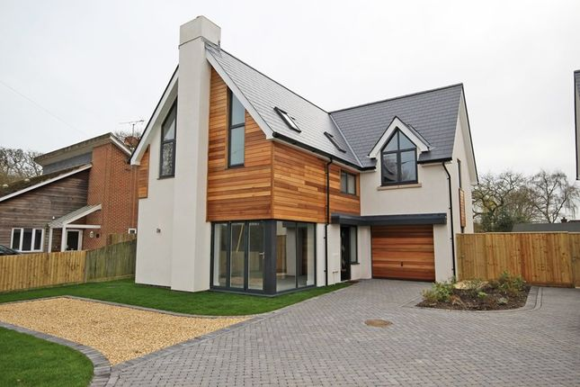 Thumbnail Detached house for sale in Sky End Lane, Hordle, Lymington