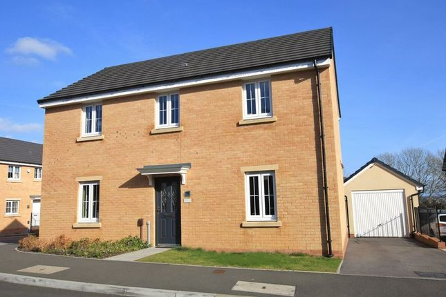 Thumbnail Detached house for sale in White Farm, Barry