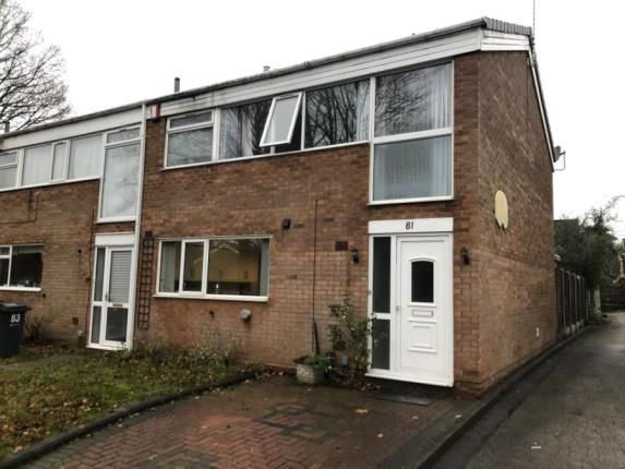 Thumbnail 3 bed end terrace house for sale in Christchurch Close, Birmingham, West Midlands