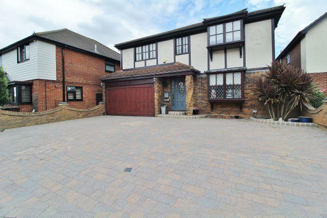 Thumbnail Detached house for sale in Dovesgate, Benfleet