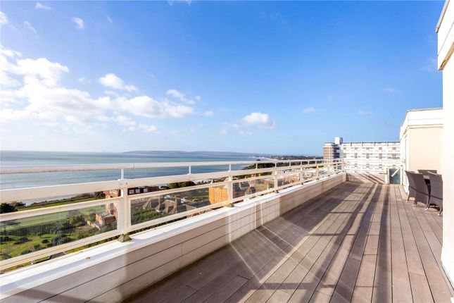 Thumbnail Flat for sale in West Cliff Road, West Cliff, Bournemouth