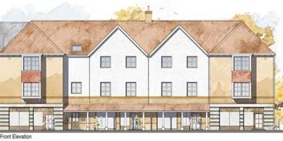 Thumbnail Retail premises to let in Stones Farm Development, The Street, Bapchild, Sittingbourne, Kent