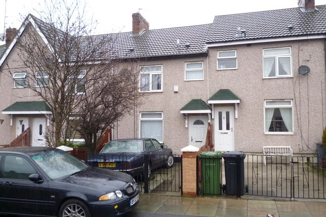 Thumbnail Terraced house for sale in Marsh Avenue, Bootle, Liverpool