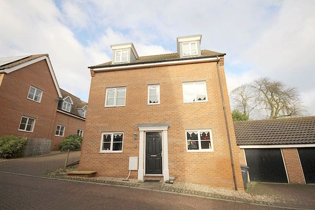 Thumbnail Detached house for sale in Attoe Walk, Norwich