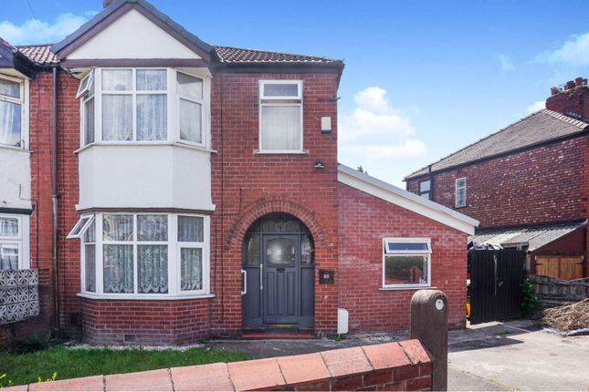 Thumbnail Semi-detached house for sale in Kingswood Road, Manchester
