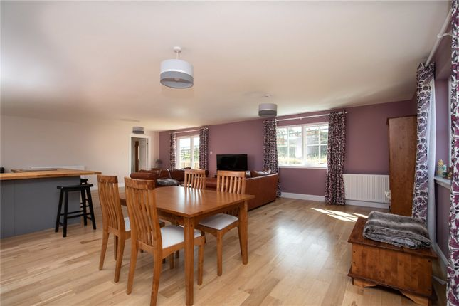 Open Plan Dining of Trimontium View, Midlem, Roxburghshire TD7