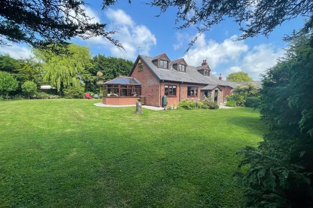 Thumbnail Detached bungalow for sale in Rose Cottage, Bannister Lane, Leyland