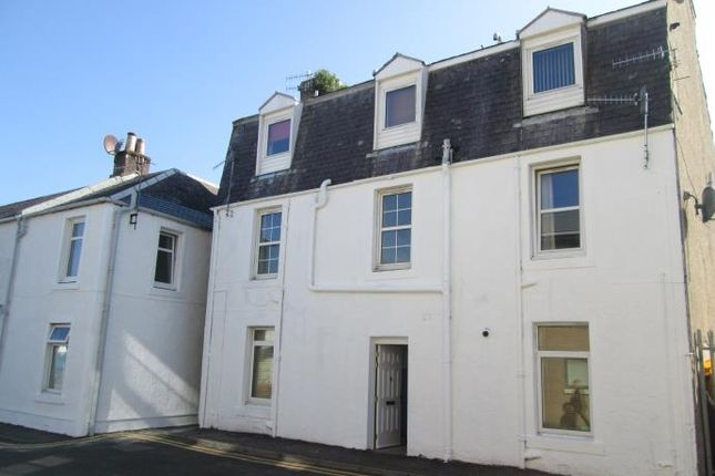 Thumbnail Flat to rent in Flat D 14, Lade Street, Largs