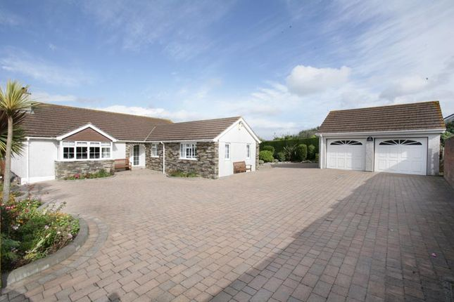 Thumbnail Detached bungalow for sale in The Heathers, Church Road, Wembury