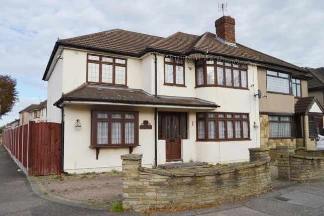 Thumbnail Semi-detached house for sale in Maybank Avenue, Hornchurch