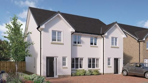 Semi-detached house for sale in Borland Walk, Glassford, Strathaven