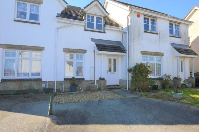 Thumbnail Terraced house to rent in Carthew Close, Liskeard, Cornwall