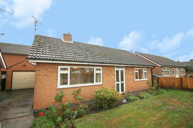 Thumbnail Detached bungalow for sale in Park Road East, Calverton, Nottingham