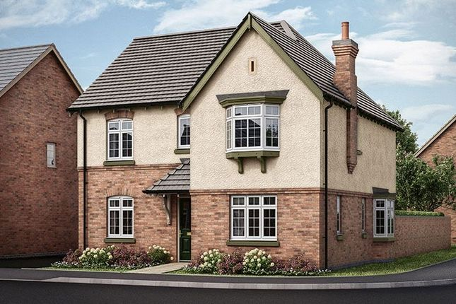 Thumbnail Detached house for sale in The Dovecliffe, Hilltop View, Burton On Trent