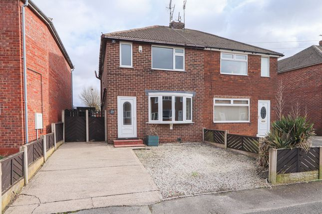 Thumbnail Semi-detached house to rent in Netherthorpe Close, Staveley, Chesterfield