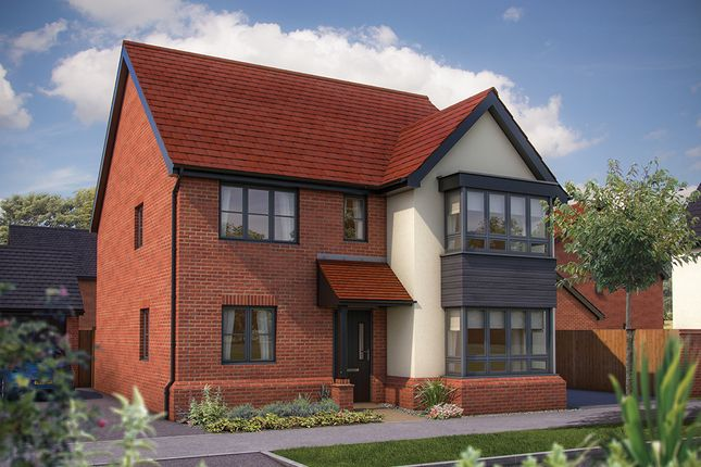 "Thumbnail Detached house for sale in ""The Wavenden"" at Barrosa Way, Whitehouse, Milton Keynes"