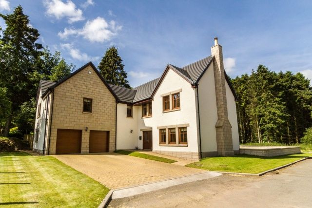 Thumbnail Detached house for sale in Forgan Grove, Forgandenny, Perth And Kinross