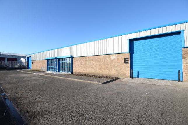 Thumbnail Industrial to let in Unit E, Centro Park, Beckett Close, Knowsley Industrial Park, Liverpool