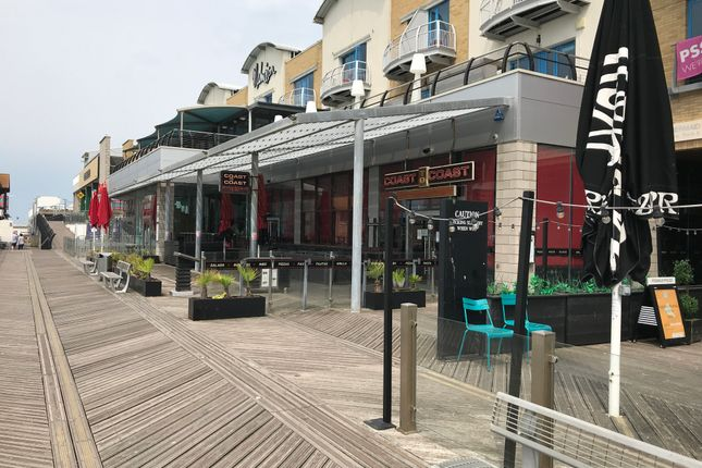 Thumbnail Restaurant/cafe to let in 3B The Boardwalk, Brighton Marina Village, Brighton