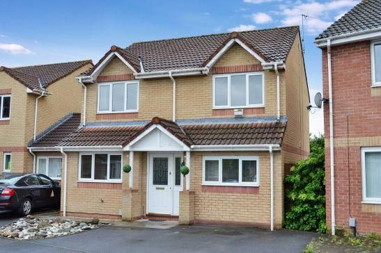 Thumbnail Detached house for sale in Mitchell Close, St. Mellons, Cardiff