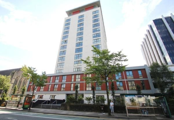 1 bed flat to rent in Admiral House, Newport Road, Cardiff CF24