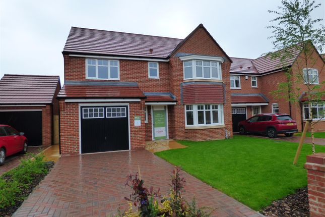 Thumbnail Detached house for sale in Queensbury Park, York Road, Priorslee, Telford
