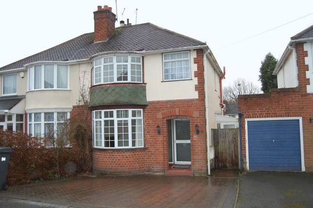 Thumbnail Semi-detached house to rent in Fairview Road, Penn, Wolverhampton