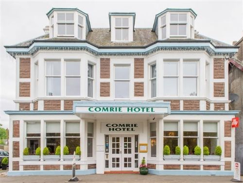 Thumbnail Hotel/guest house for sale in Comrie, Perth And Kinross