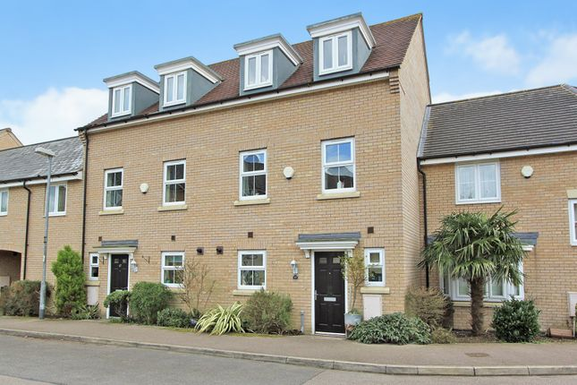 Thumbnail Town house for sale in Bourneys Manor Close, Willingham, Cambridge