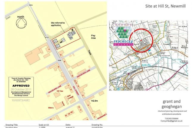 Land for sale in Hill Street, Newmill, Keith, Aberdeenshire