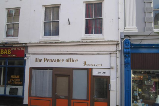 Thumbnail Flat to rent in Alverton Street, Penzance