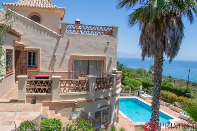 Thumbnail Villa for sale in La Chullera, Manilva, Manilva