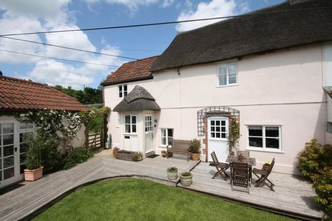 Thumbnail End terrace house to rent in Park Farm Cottages, Frome St. Quintin, Dorchester, Dorset