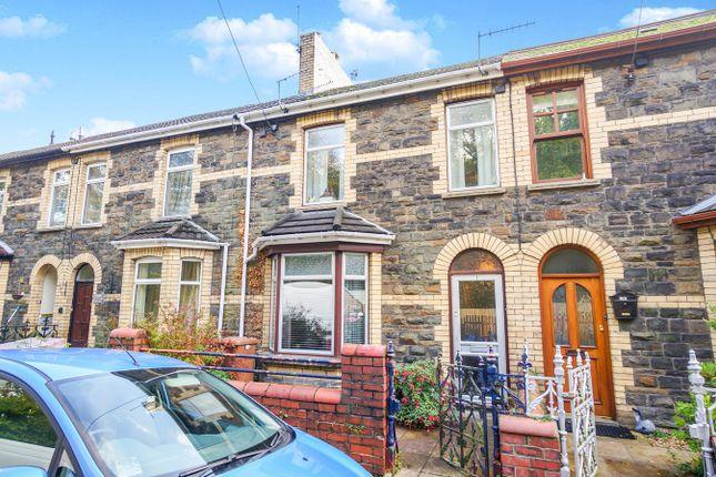 Thumbnail Terraced house for sale in Fields Park Terrace, Cross Keys, Newport